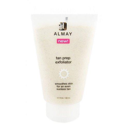 Almay Tan Prep Exfoliator Smoothes Skin For An Even Sunless Tan 150ml.5.1 fl oz
