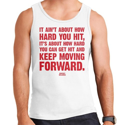 Rocky How Hard You Hit Quote Men's Vest