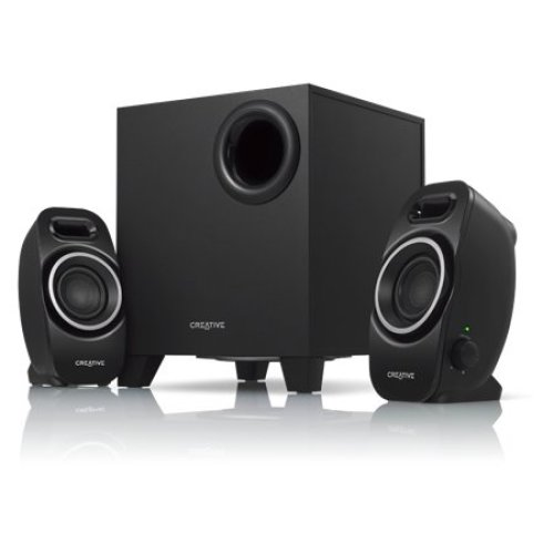 Creative Labs A250 2.1channels Black speaker set
