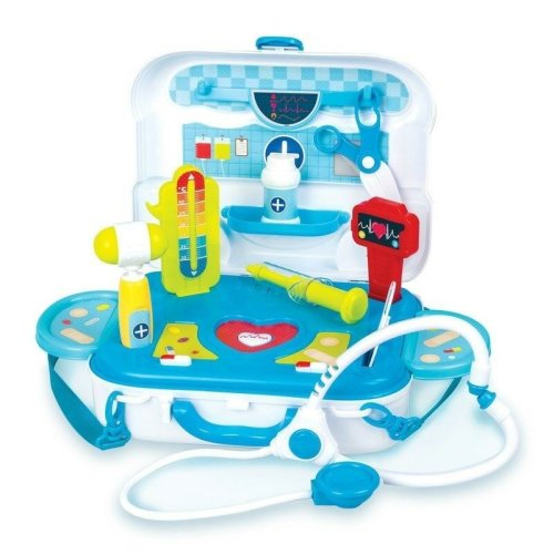 Junior Doctors Kit Nurse Play Medic Medical Toy Kids Childrens