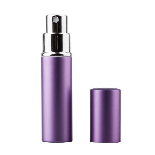 TRIXES 5ml Atomiser Spray Bottle Purple | Easy Fill Travel Perfume Bottle