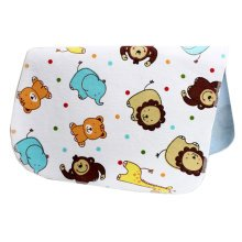 [19*27 Inch] Lovely Waterproof Breathable Baby Urine Pad-Lion and Dot