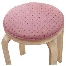 Round Stool Cushion Warm Sponge Pad Bar Stool Mat Pink