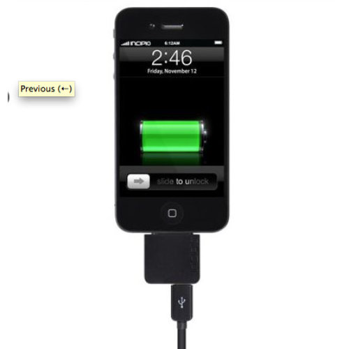 Incipio BIGshow A/V cable for Apple iPhone iPod and iPad -IP-613