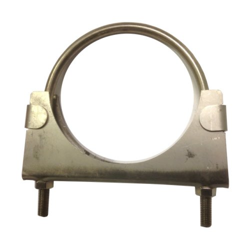 Heavy duty exhaust / hose clamp - 127 mm - T304 Stainless Steel