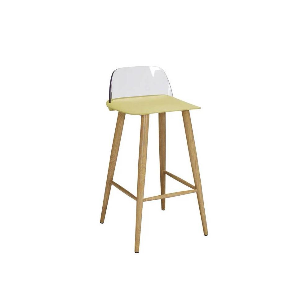Incredible 2 X Wallasey Fixed Height Breakfast Bar Stool Lime 50 8Cm 41Cm 40Cm Plastic Satin Yellow Plastic Ocoug Best Dining Table And Chair Ideas Images Ocougorg