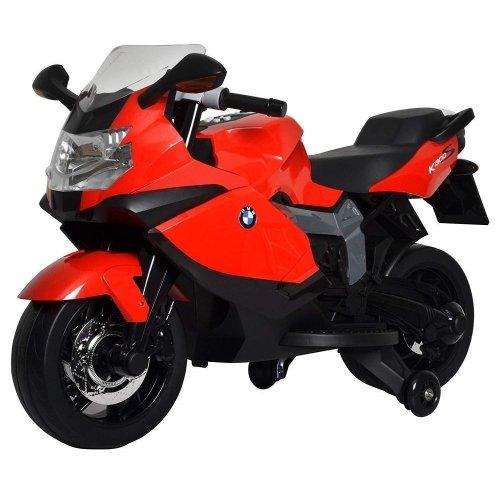 Toyrific Official Licensed BMW K1300S 12V Kids Bike light Electric Ride On Red