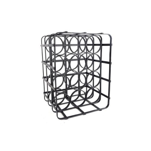 39Cm Iron Wine Rack Great For Home Restaurant Bar Display Of Wines
