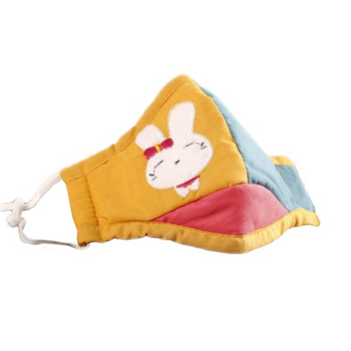 Cotton PM2.5 Anti-smog + N95 Activated Carbon Mask Children Masks Rabbit 03