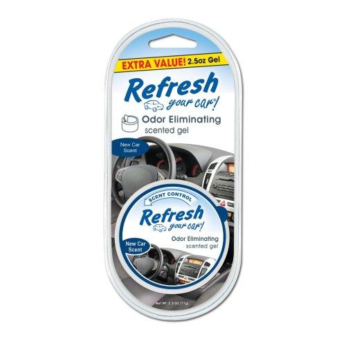 Refresh Your Car 09984 New Car Gel Can Air Freshener, 2.5 oz