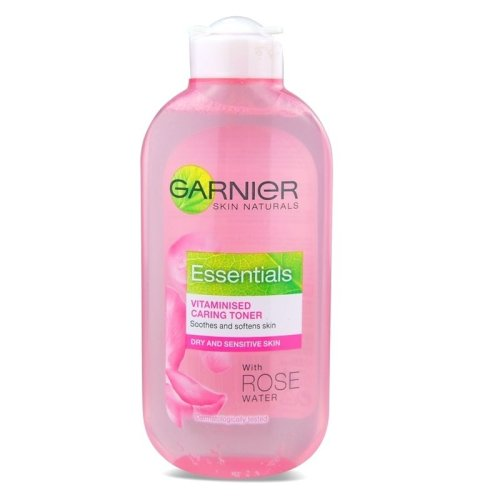 Garnier Essentials Vitaminised Caring Toner with Rose Water For Sensitive Skin 200ml