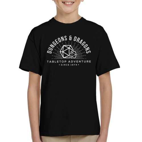 Dungeons And Dragons Table Top Adventure Kid's T-Shirt