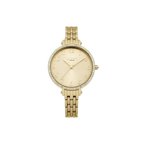 Lipsy Women's Diamante PVD Gold Plated Watch - LP407