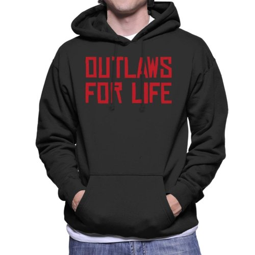 Outlaws For Life Red Dead Redemption Men's Hooded Sweatshirt