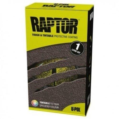UPOL Raptor (TINTABLE) Tough Urethene Coating Truck Bed Liner  1ltr kit