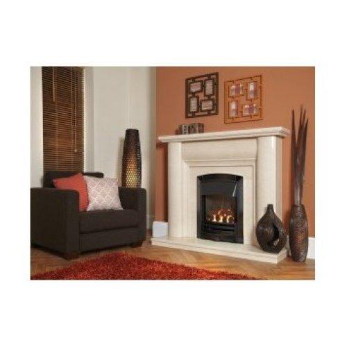 Designer Fire - Flavel FHKCDNRN3 Black Nickel Decadence HE Gas Fire - RC