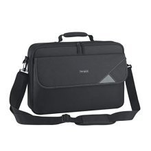 Targus Intellect Clamshell Laptop Bag / Case fits 15.6 Inch Laptops, Black
