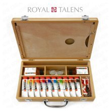 Royal Talens Cobra Water Mixable Oil Art Set | Oil Painting Set