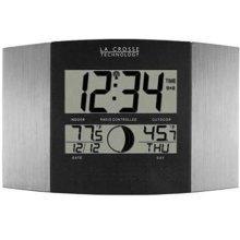 La Crosse Technology WS-8117U-IT-AL LC Atomic Digital Wall Clock