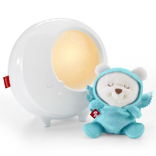 Fisher Price Butterfly Dreams 2-in-1 Night Light Projector White DYW48