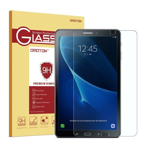OMOTON Samsung Galaxy Tab A 10.1 Screen Protector - Tempered Glass Protector