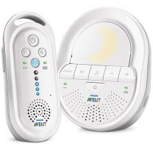 Philips Avent SCD506/05 DECT Baby Monitor with Night Light and Lullabies