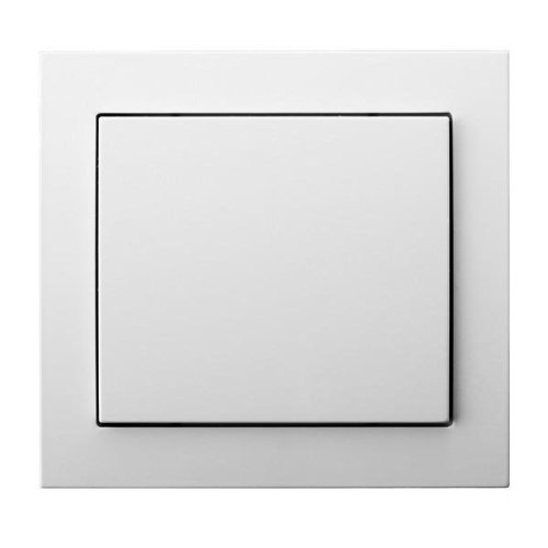 Single Big Button Indoor Light Switch Click Wall Plate
