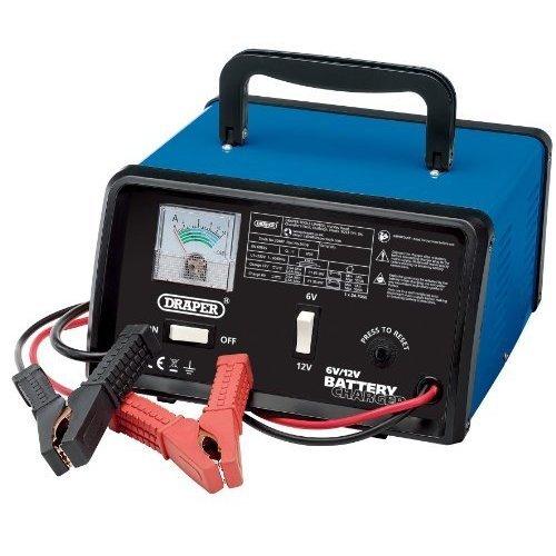 5.6a 6v/12v Battery Charger - Draper 20487 56a 612v -  battery draper charger 20487 56a 612v
