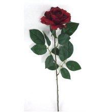 Artificial Silk Premium Rose Medium Single Stem