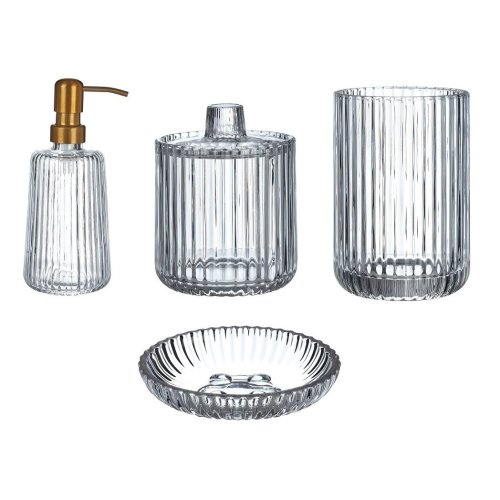 Ticino Brittany Clear Glass Basin Accessories