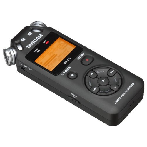Tascam DR-05V2 Compact Digital Recorder. Includes 4GB SD Card