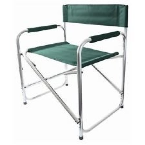 Folding Director's Chair - Green