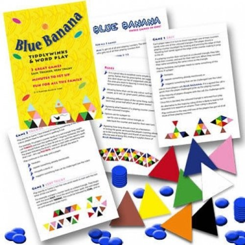 Blue Banana Tiddlywinks and Word Play Games