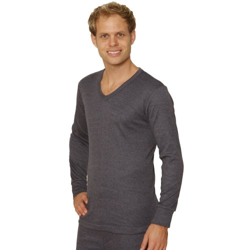 Octave Men's Thermal Long Sleeve V-Neck Top