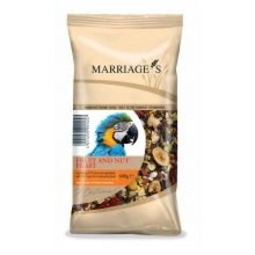Msf Parrot Fruit & Nut 600g