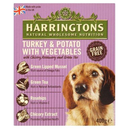 Harringtons Wet Turkey & Potato 400g (Pack of 8)
