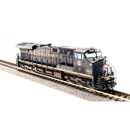 Broadway Limited Imports BLI3547 N Scale Norfolk Southern GE ES44AC No.8103 Norfolk & Western Heritage Paint - Paragon3 Sound DC & DCC