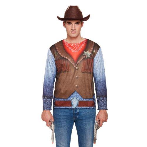 HB D/Up Adult Cowboy Shirt