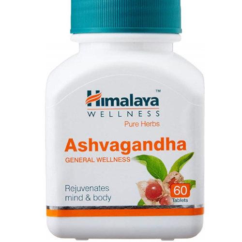 5 Pack Himalaya Herbals Ashvagandha 60 tabs each