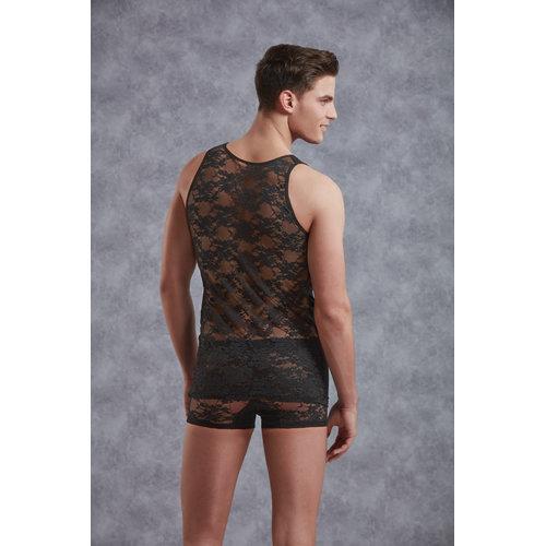 Doreanse Body Men - Black XXL Men's Lingerie Shirts - Doreanse