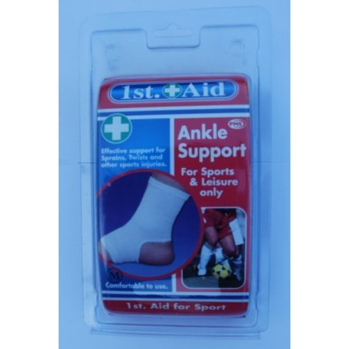 Ankle Support For Sprains, Twists And Other Sports Injuries - Light Strains -  ankle support sports other light strains medium first aid comfortable
