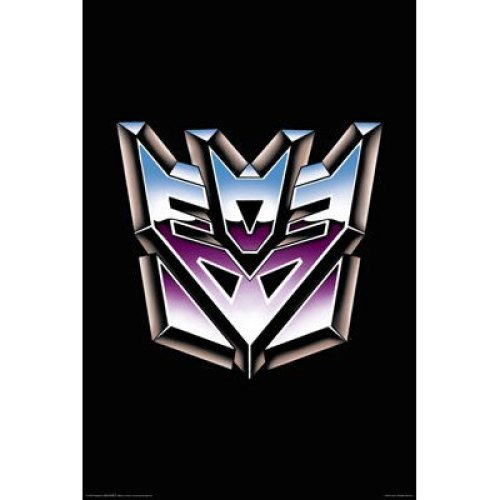 Poster - Transformers - Decepticons Logo Wall Art Licensed Gifts Toys 241230