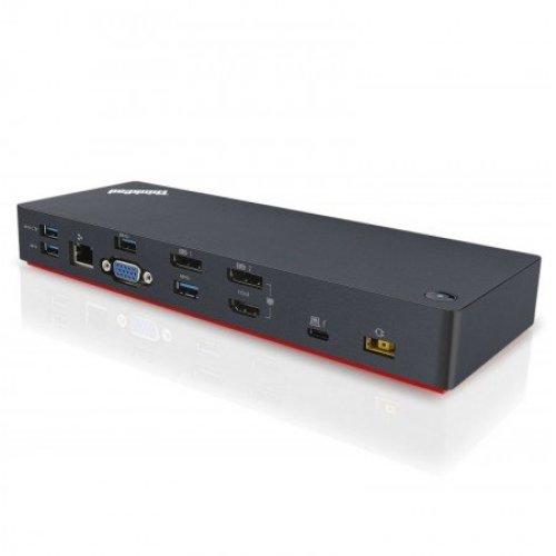 Lenovo 40AC0135EU Thunderbolt 3 Black notebook dock/port replicator