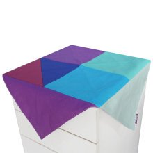 Colorful Canvas Refrigerator Dust Cover Tablecloth Dustproof Cloth for Cabinet
