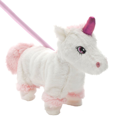 TRIXES 28cm Walking Interactive Toy – Unicorn – Christmas Present