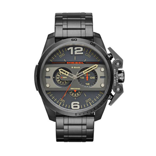 Diesel Ironside Men's Gunmetal Chronograph Watch DZ4363