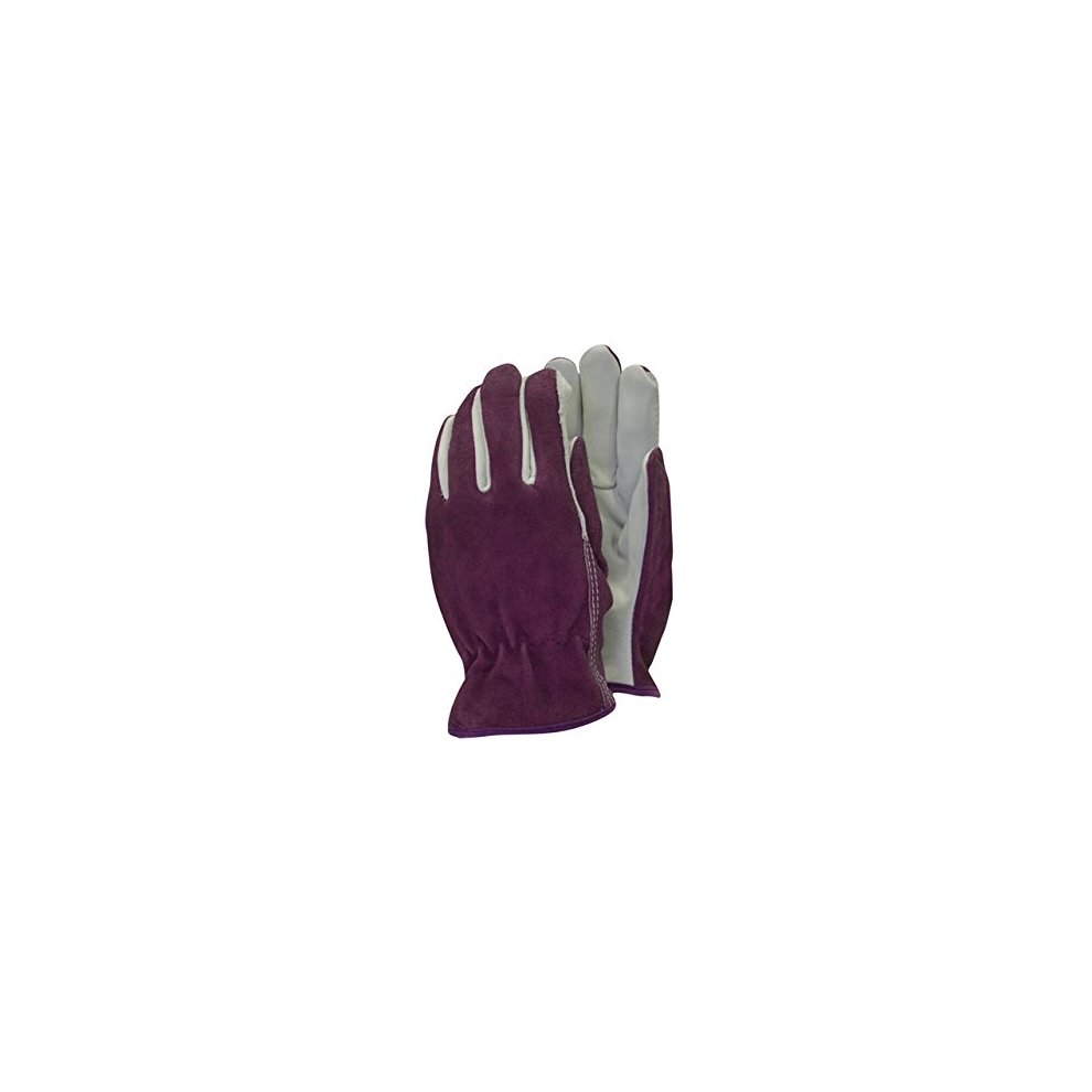 344fea8a0 Town & Country TGL114M Deluxe Premium Leather & Suede Ladies Gloves Medium.  >