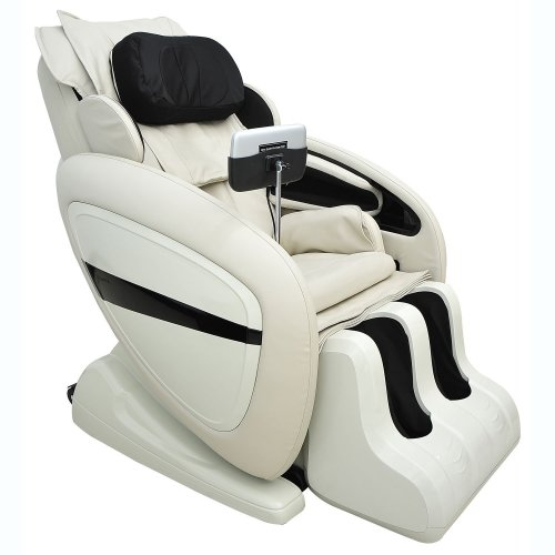 Homcom Luxury Reclining Leather Massage Chair Automatic Zero Gravity