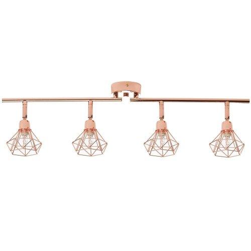 Ceiling Lamp Metal Copper ERMA