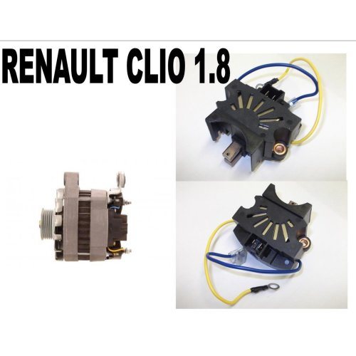 RENAULT CLIO 1.8 HATCHBACK 1991 - 98 NEW ALTERNATOR REGULATOR